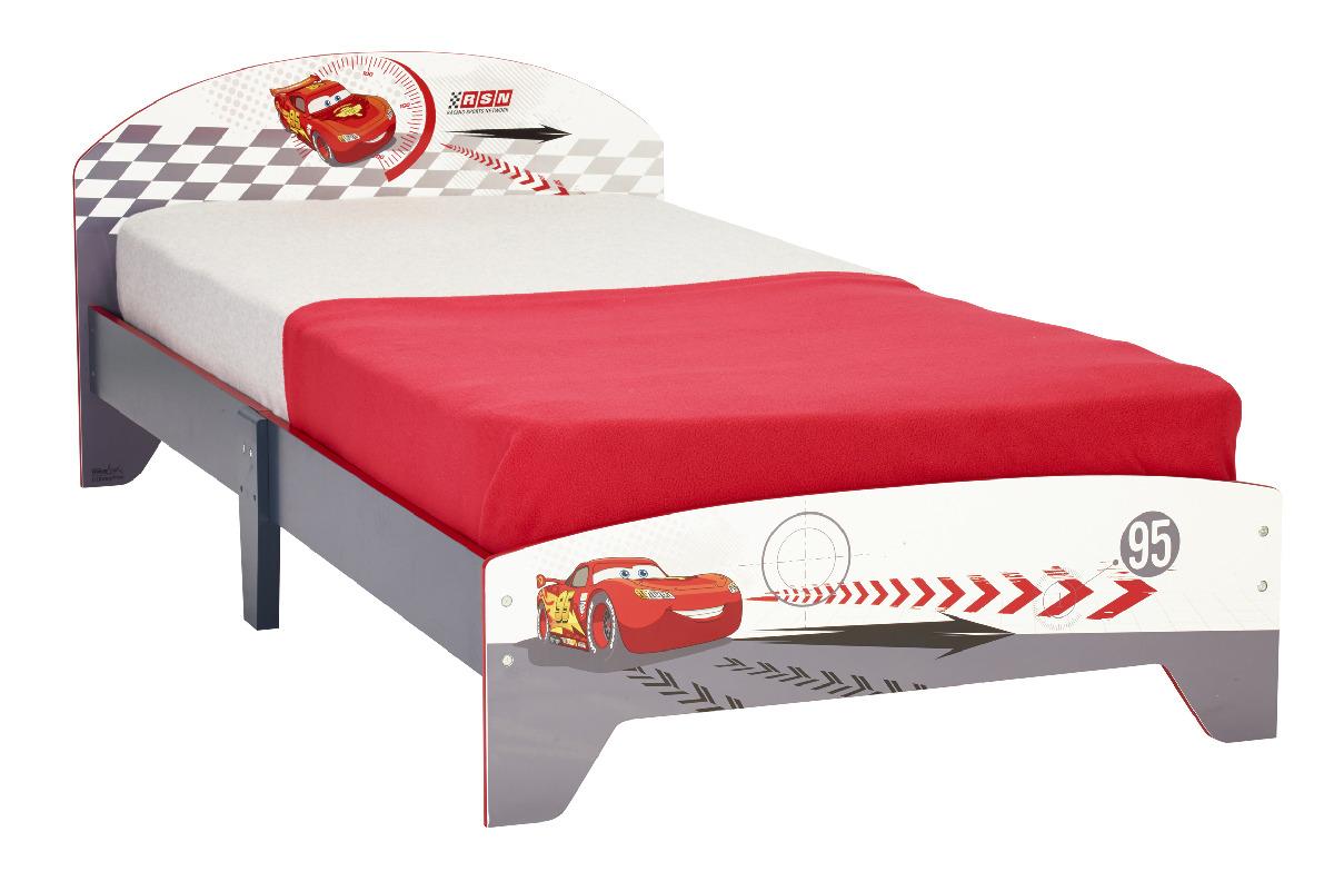 worlds apart cars seng 190x90 cm m madras juniorsenge med motiver. Black Bedroom Furniture Sets. Home Design Ideas