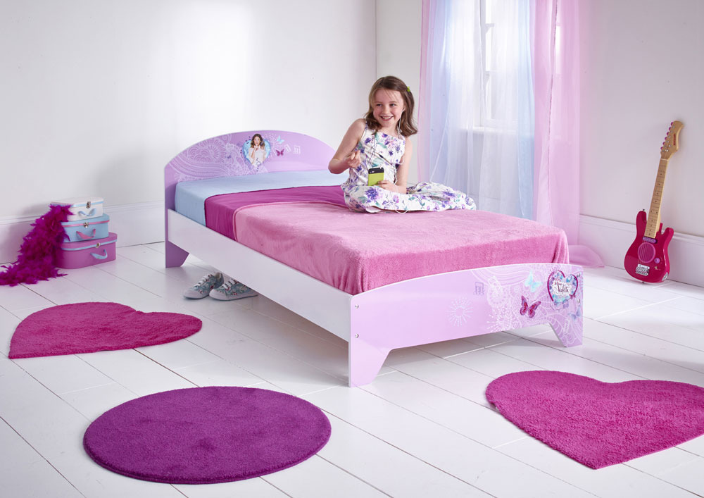violetta bett 190x90 cm ohne matratze junior betten mit motiven. Black Bedroom Furniture Sets. Home Design Ideas
