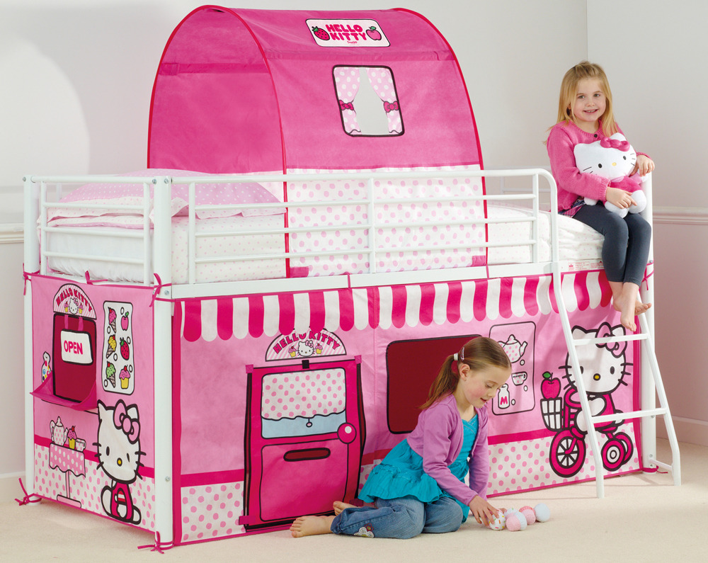 hello kitty zelt set 2 m bett zelte. Black Bedroom Furniture Sets. Home Design Ideas