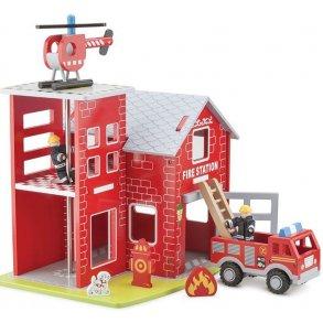 Politi og Brandstationer