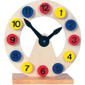 Lär klockan
