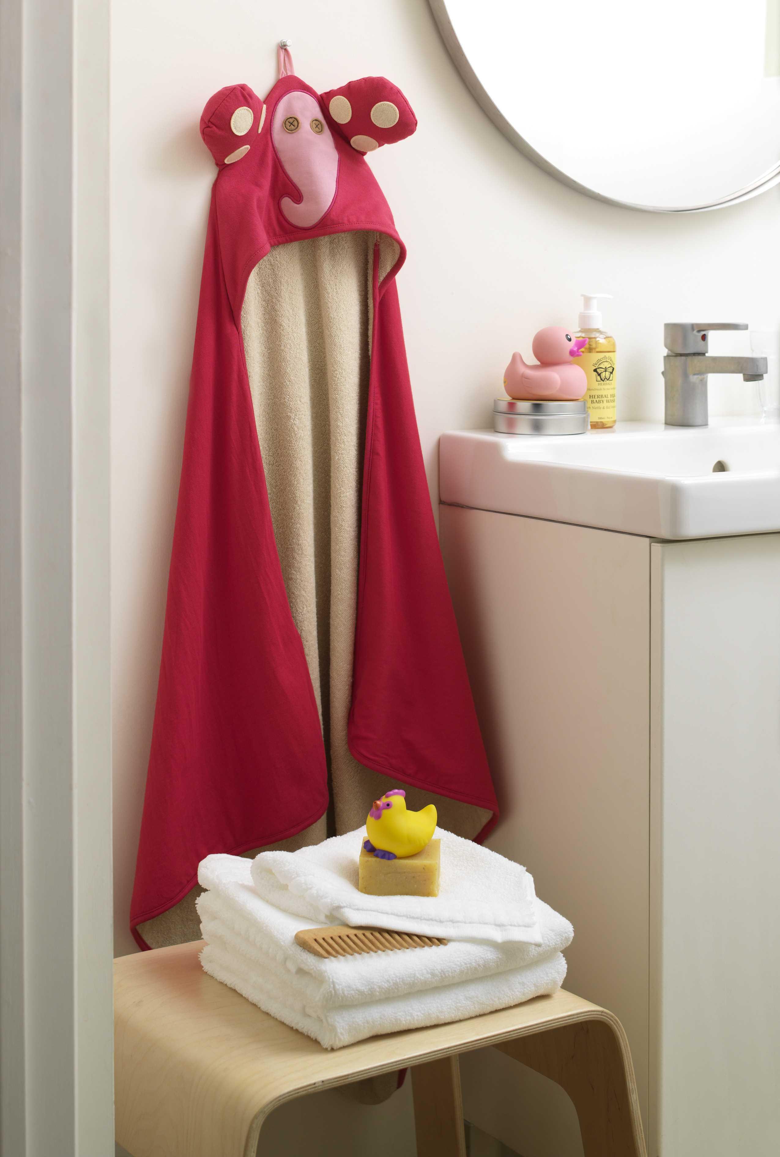 3 sprout handt cher f r babies mit haube 76cm x 76cm elefant badet cher. Black Bedroom Furniture Sets. Home Design Ideas