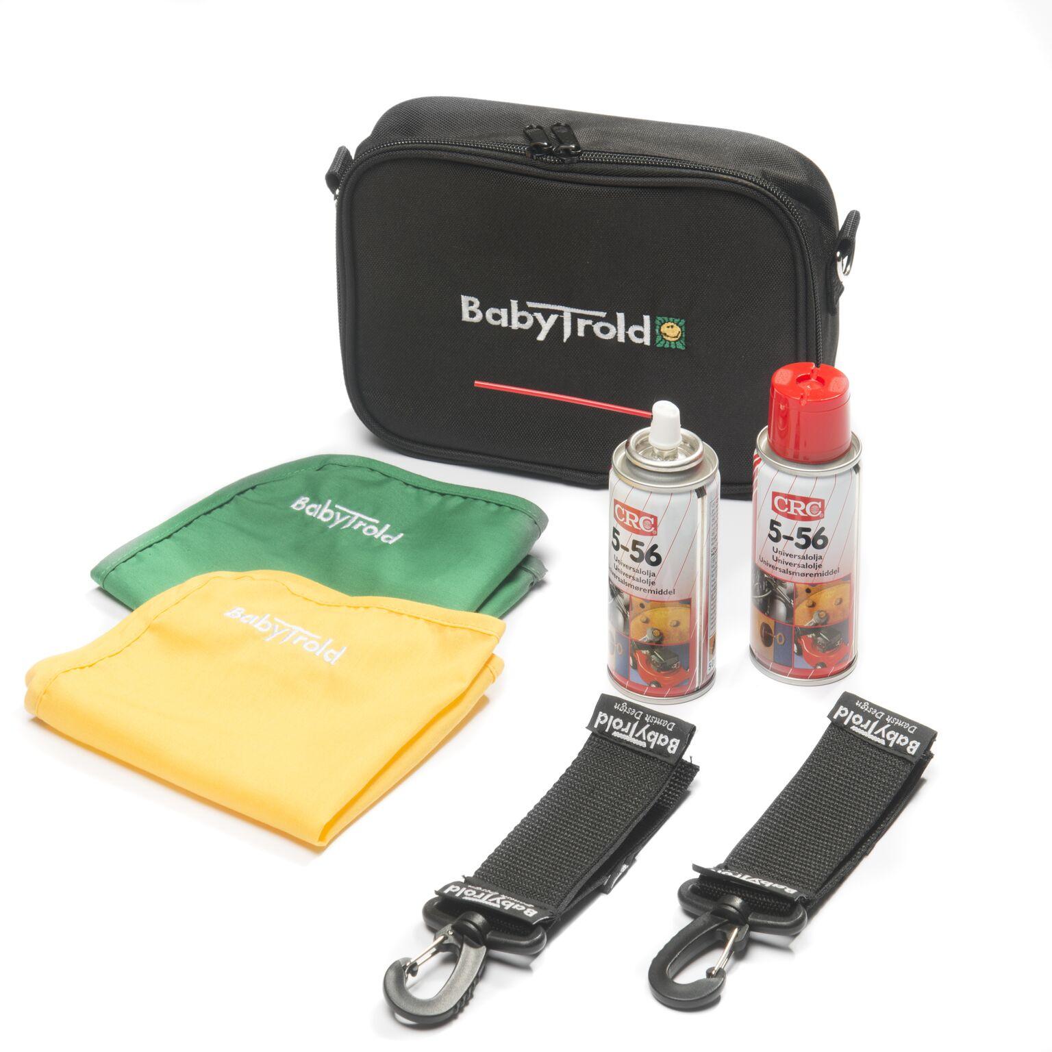 BabyTrold Service Kit til barnevogn og triller - Praktisk tilbehør til Barnvogner - Onlinekids.no