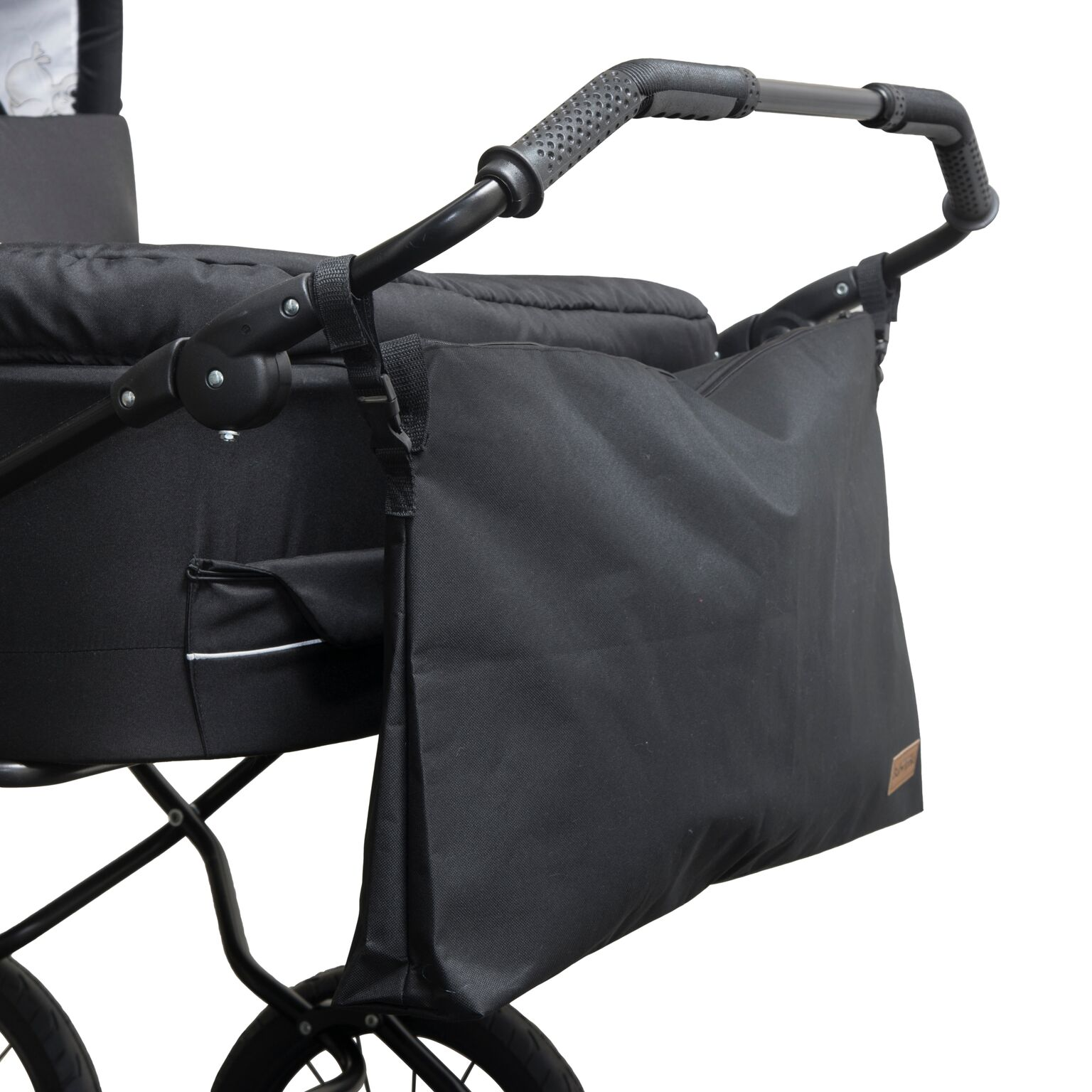 babytrold tasche f r buggy oder kinderwagen twin schwarz taschen f r kinderwagen. Black Bedroom Furniture Sets. Home Design Ideas