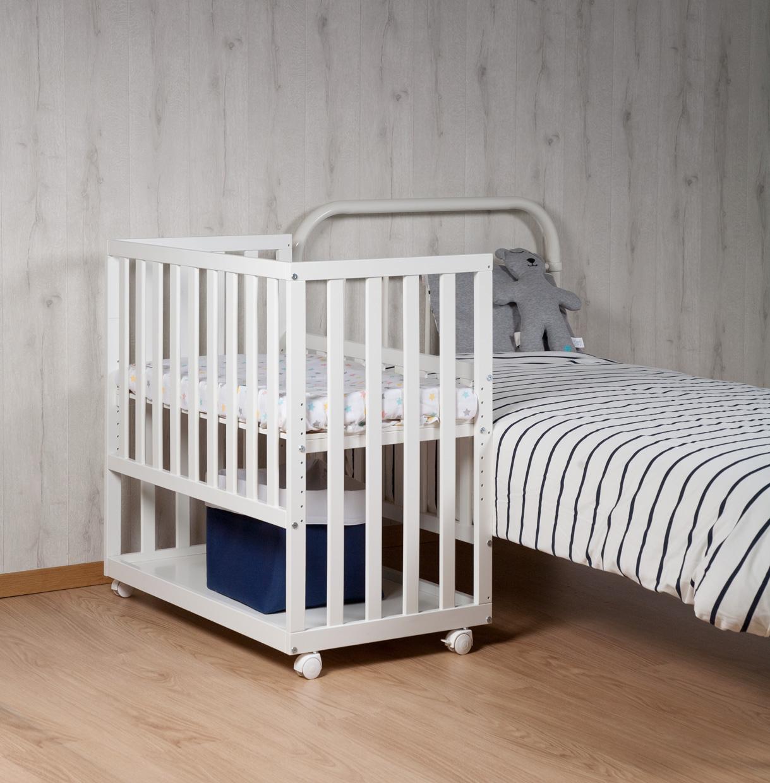 childwood by childhome bedside crib vit outlet. Black Bedroom Furniture Sets. Home Design Ideas