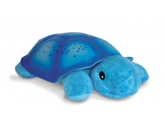 Cloud b Nattlampa Twilight Turtle, Blå