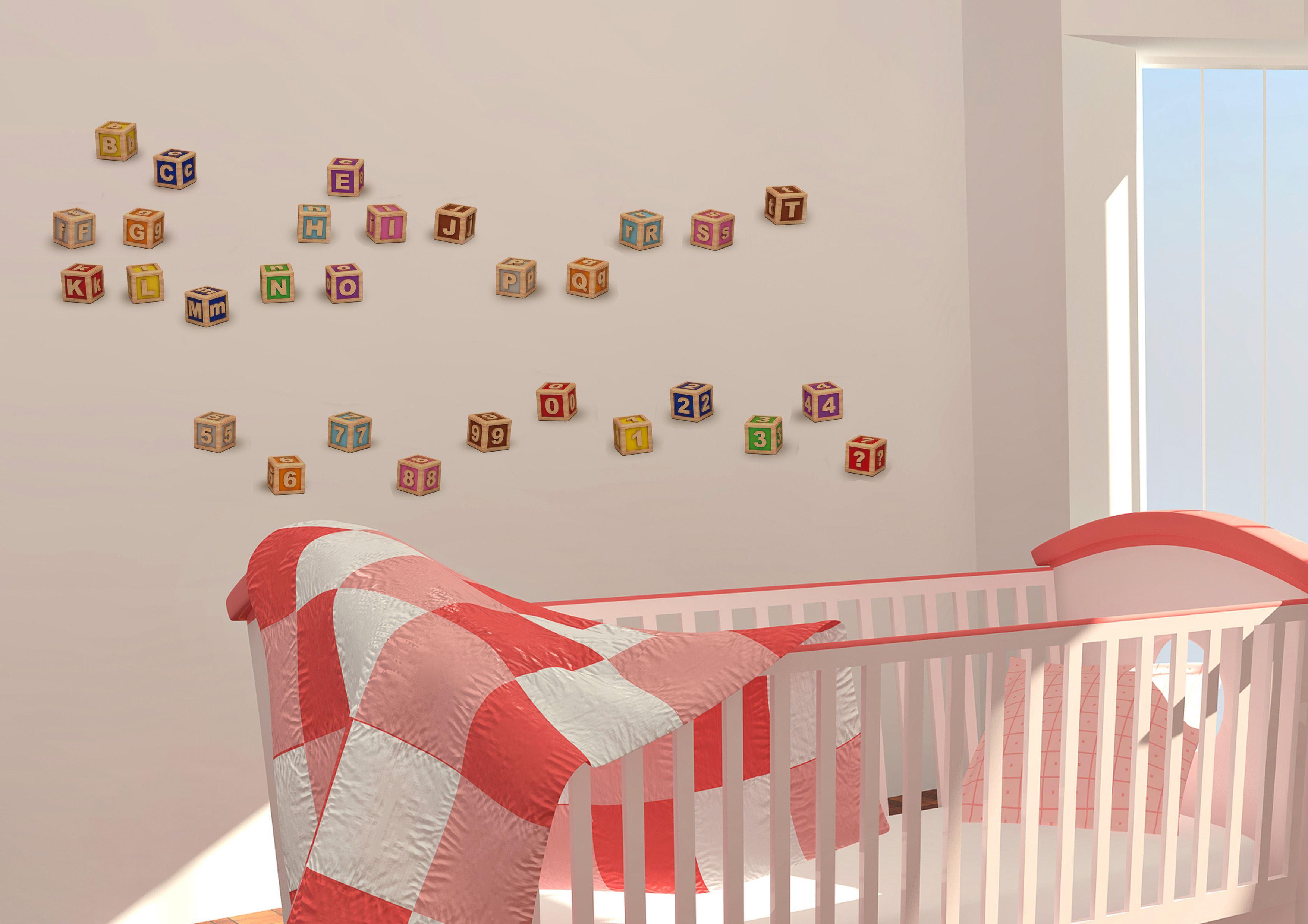 dali buchstaben wandsticker wallstickers. Black Bedroom Furniture Sets. Home Design Ideas