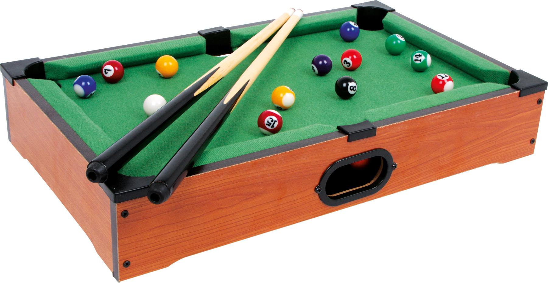 Afholte small foot Bord Billard, Mini - Billiard, Fodbold og co MK-55