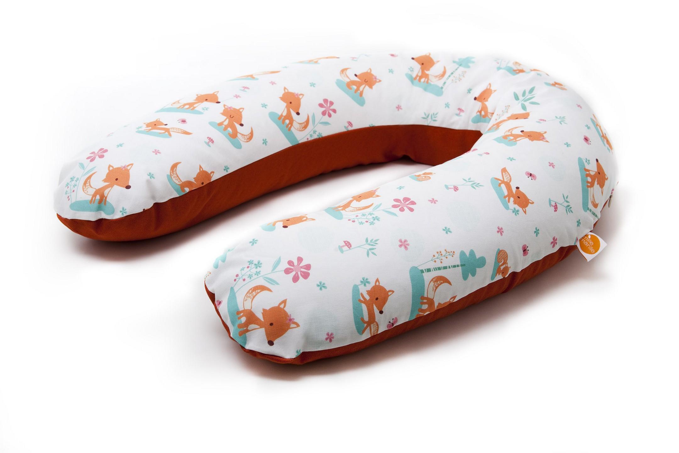millemarille stillkissen 175cm sweet foxes stillkissen. Black Bedroom Furniture Sets. Home Design Ideas