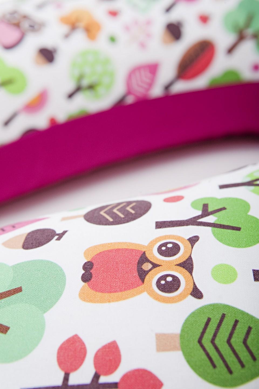 millemarille stillkissen 175cm modern owls pink stillkissen. Black Bedroom Furniture Sets. Home Design Ideas