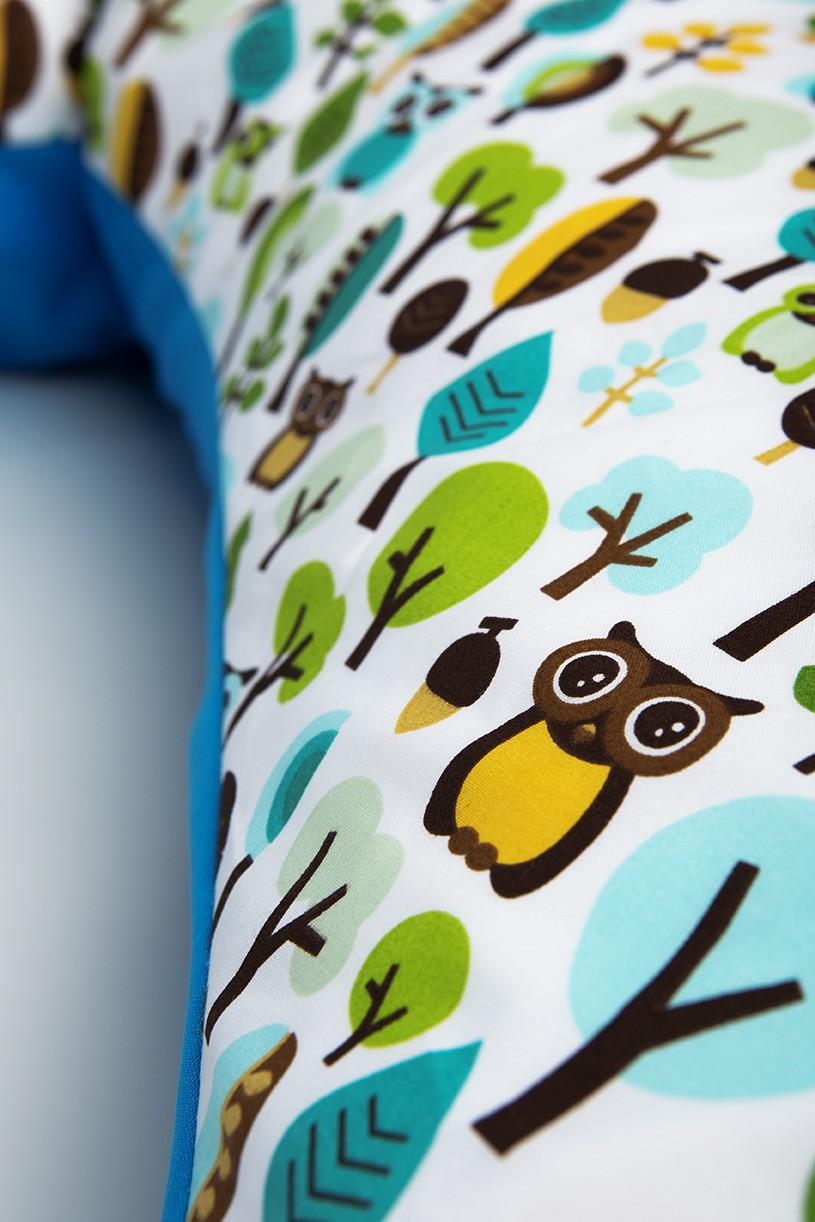millemarille stillkissen xxl 195cm modern owls blue stillkissen. Black Bedroom Furniture Sets. Home Design Ideas