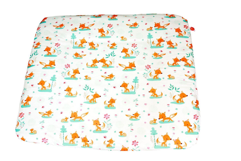 millemarille wickelauflage gro 85x75cm sweet foxes wickelunterlagen. Black Bedroom Furniture Sets. Home Design Ideas