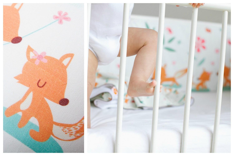 millemarille bettrand sweet foxes 70x140x70cm bettnesten. Black Bedroom Furniture Sets. Home Design Ideas