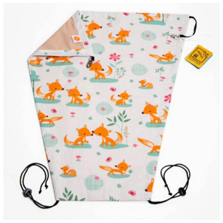 millemarille sonnenblende sweet foxes sonnensch tze f r kinderwagen. Black Bedroom Furniture Sets. Home Design Ideas