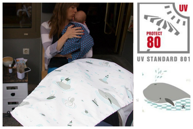 millemarille sonnenblende save the whales sonnensch tze f r kinderwagen. Black Bedroom Furniture Sets. Home Design Ideas