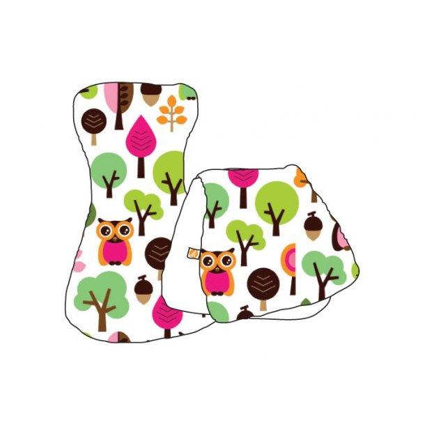 millemarille gulpe bleier modern owls rosa t y bleie. Black Bedroom Furniture Sets. Home Design Ideas