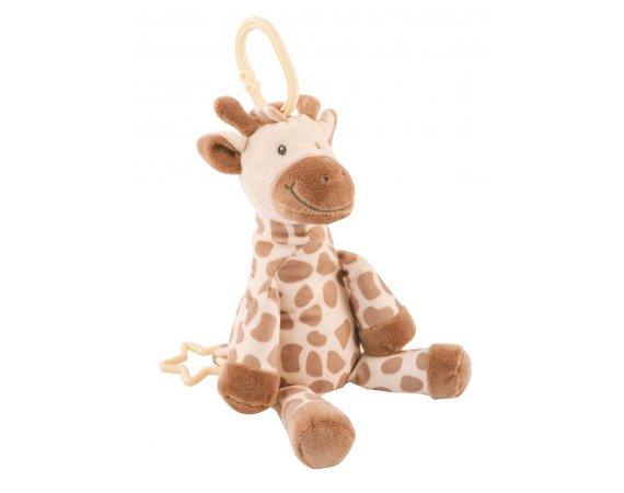 My Teddy My Giraffe Speldosa, Creme