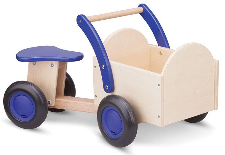 New Classic Toys Christiania Scooter, naturblå