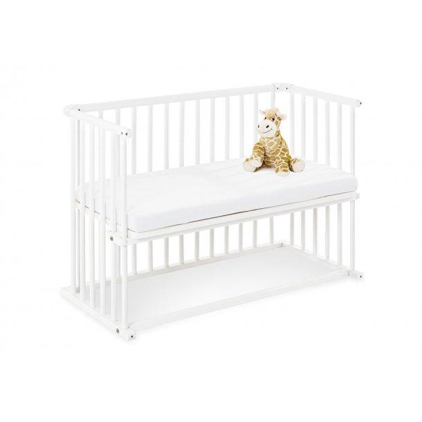 Pinolino Bedside Crib med Madras, Anja/Hvid