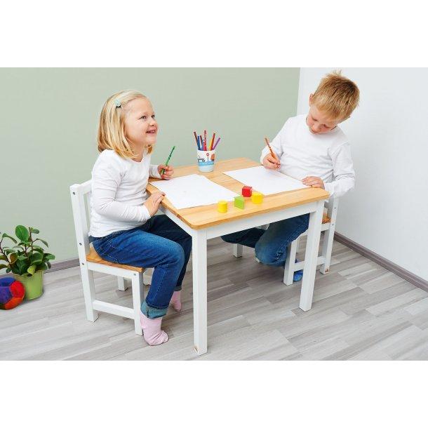 pinolino kindertisch und st hle set fenna wei natur tische und st hle. Black Bedroom Furniture Sets. Home Design Ideas