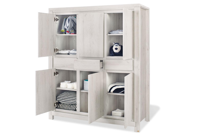pinolino gro er kleiderschrank line schr nke. Black Bedroom Furniture Sets. Home Design Ideas