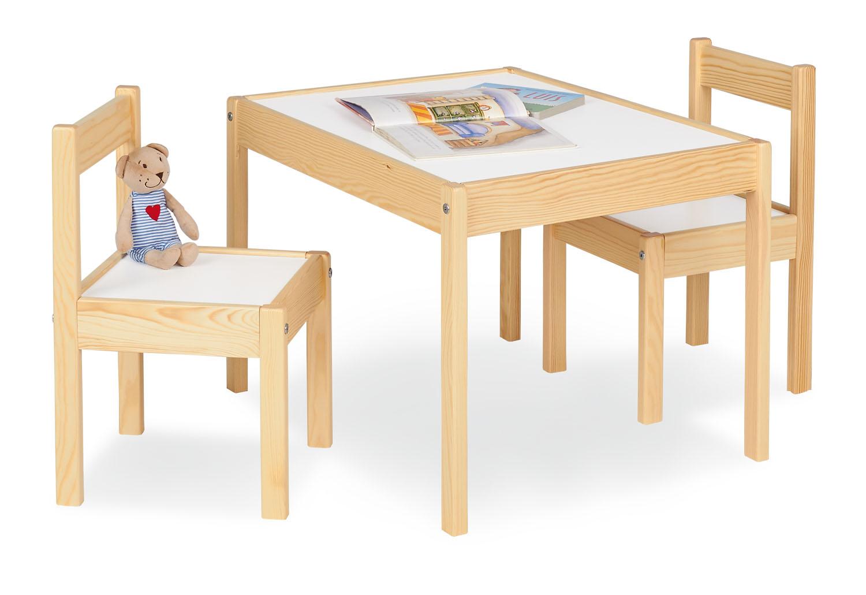 pinolino kindertisch und st hle set olaf lackiert tische und st hle. Black Bedroom Furniture Sets. Home Design Ideas