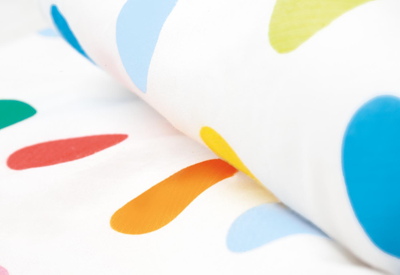 pinolino textil zubeh r f r babybetten 4 teile gepunktet. Black Bedroom Furniture Sets. Home Design Ideas