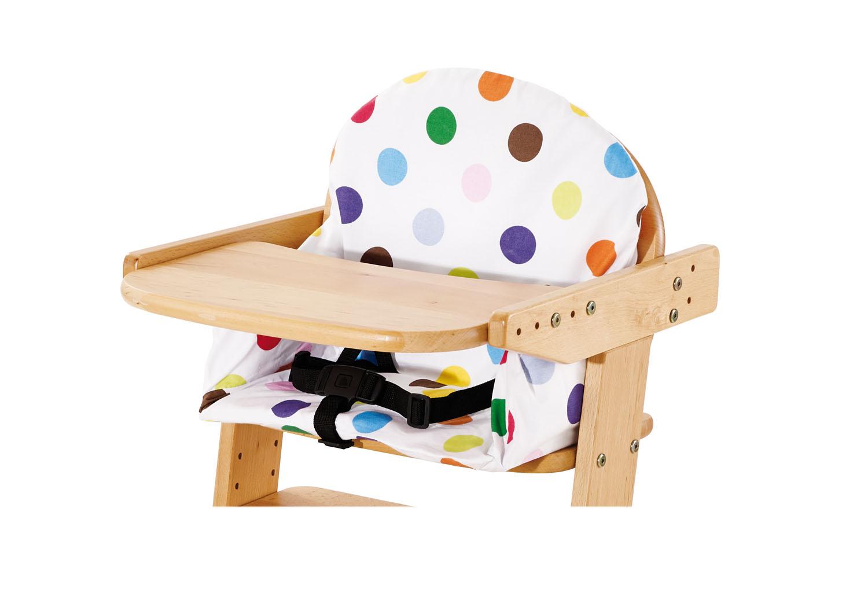 pinolino bezug f r den hochstuhl gepunktet hochstuhl kissen. Black Bedroom Furniture Sets. Home Design Ideas