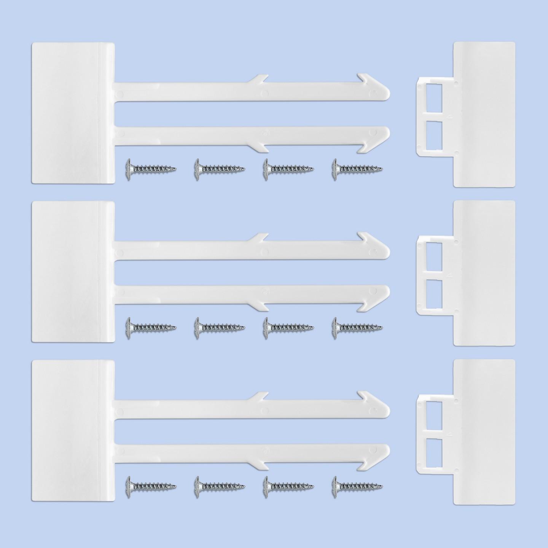 reer sicherung f r schr nke und schubladen wei sicherheit zu hause. Black Bedroom Furniture Sets. Home Design Ideas