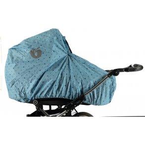 Regnslag til barnevogn og klapvogn - Hold regnen ude!