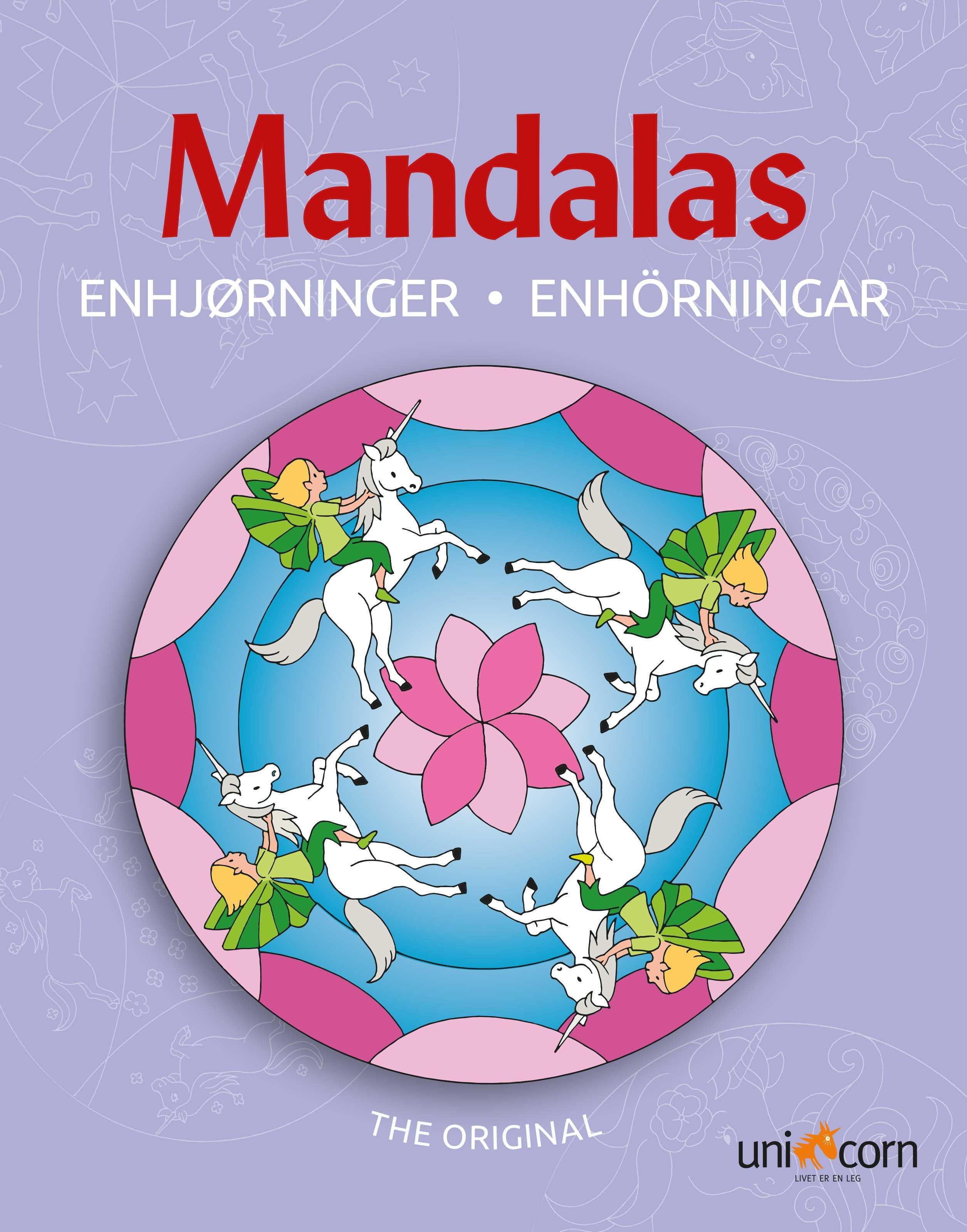 70399824 Mandalas Malebog Enhjørninger - Malebøger - Onlinekids.dk