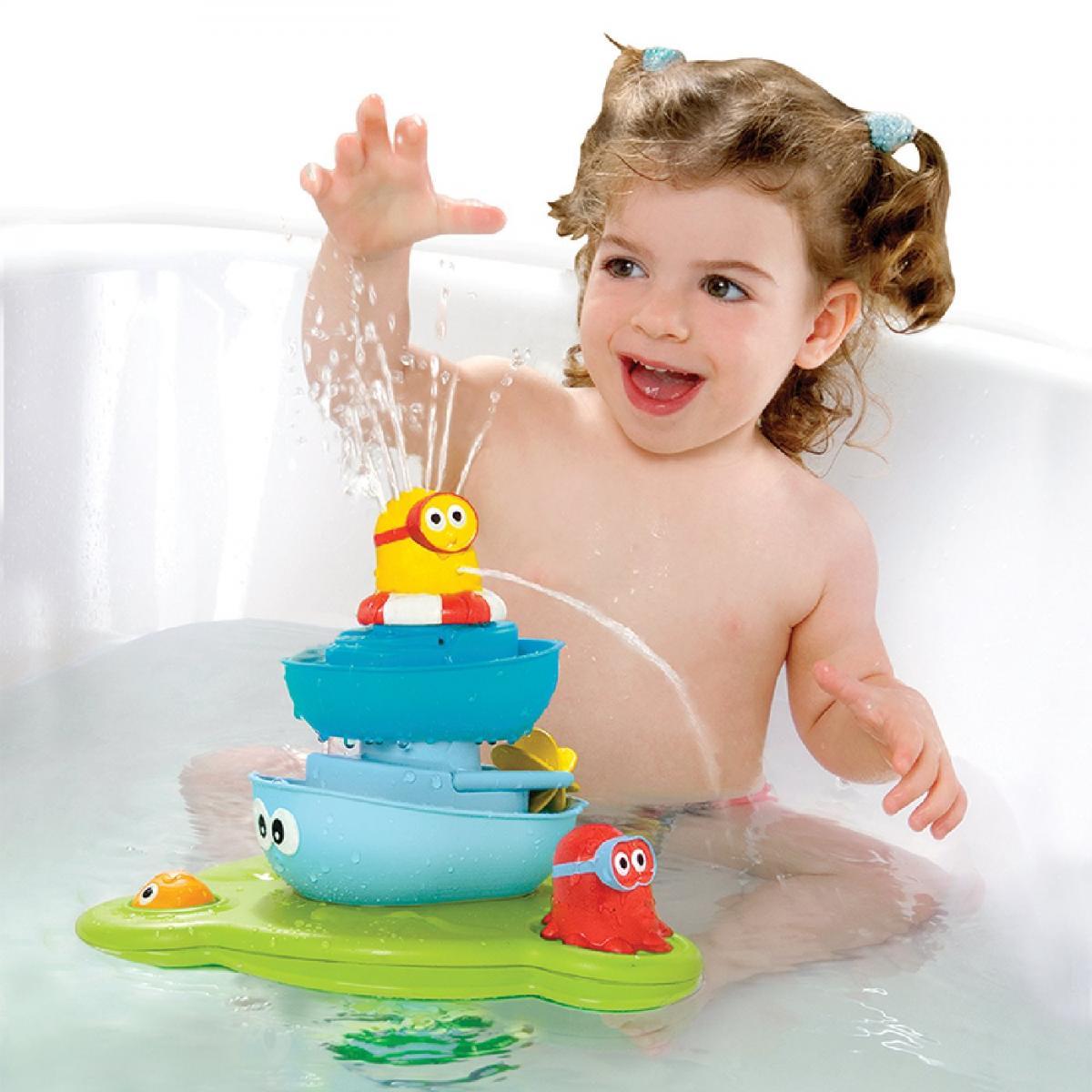 yookidoo magischer brunnen zum selbst aufbauen badespielzeug. Black Bedroom Furniture Sets. Home Design Ideas