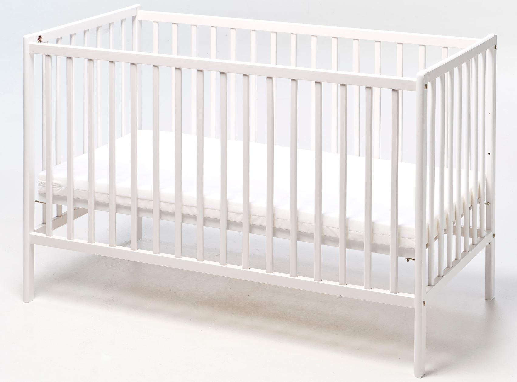 Picture of: Babytrold Seng Mia Hvid Babysenge Onlinekids Dk