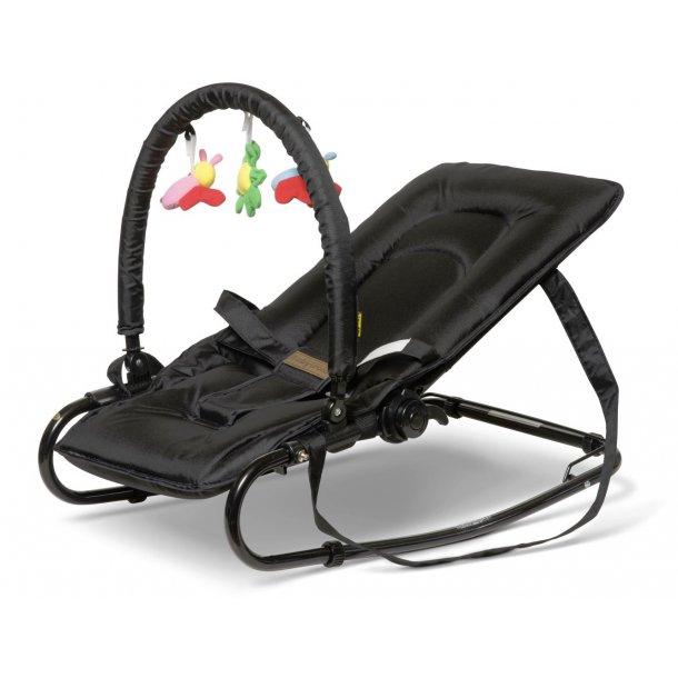 Babytrold Baby Stuhl Wippe Mit Spielzeug Schwarz Stuhl