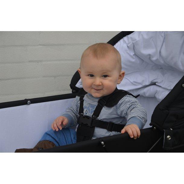 Trille Kinderwagen Gurt Nylon, schwarz - Kinderwagen Gürte - Onlinekids.de